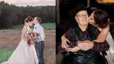 婚事告吹「把幸福送別人」 暖心女助佳偶提早結婚 癌末爺及時見證