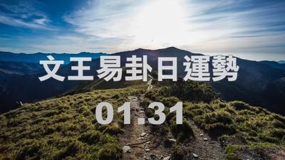 文王易卦【0131日運勢】求卦解先機