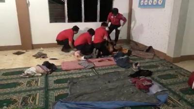 菲律賓清真寺遭手榴彈攻擊 2死4傷