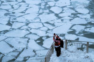 極地渦旋席捲美國 直降零下50度