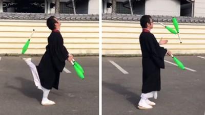 穿袈裟開車竟被開罰 日本僧侶卯起來「狂拍雜耍片」對抗警察