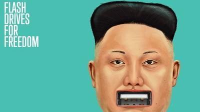 不要的隨身碟送北韓 人權組織籌備「文化衝擊彈」 空拋打破資訊封鎖