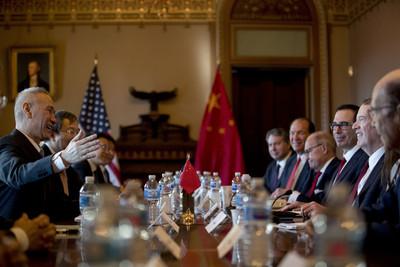 牛彈琴:中美貿易磋商「現場很不尋常」