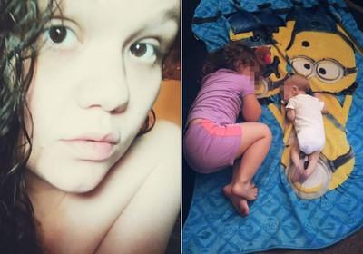 2月大兒餓死前 母只顧拍照PO網