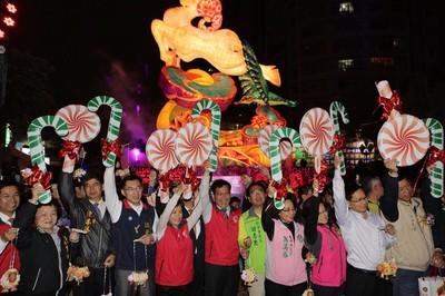 2020台灣燈會在台中 林佳龍恭喜盧秀燕