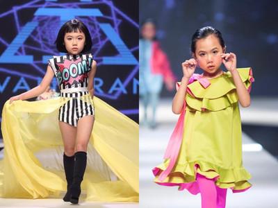 貝小七對手!8歲模特最狂走秀