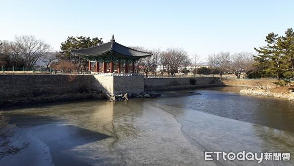 ▲▼南韓,慶州,雁鴨池(圖/記者羅翊宬攝)
