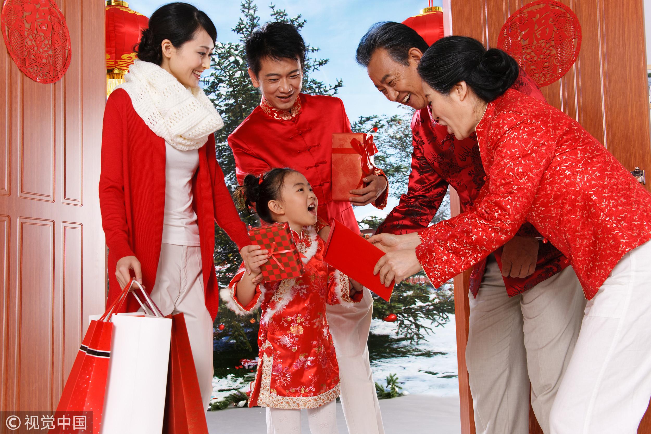 ▲▼紅包,壓歲錢,春節,過年,家人團聚。(圖/視覺中國)