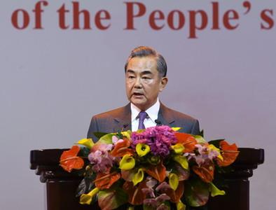 王毅:反對外部勢力干預台灣問題