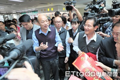 韓國瑜訪中 被陸委會令不准簽協議