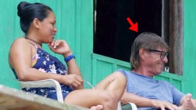 深山迷路遇見真愛之女!人夫放棄都市生活 定居亞馬遜叢林結婚生子