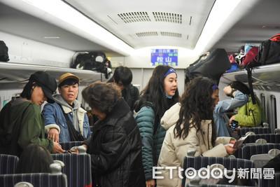 春節旅客擠爆!台鐵加開自強、區間快