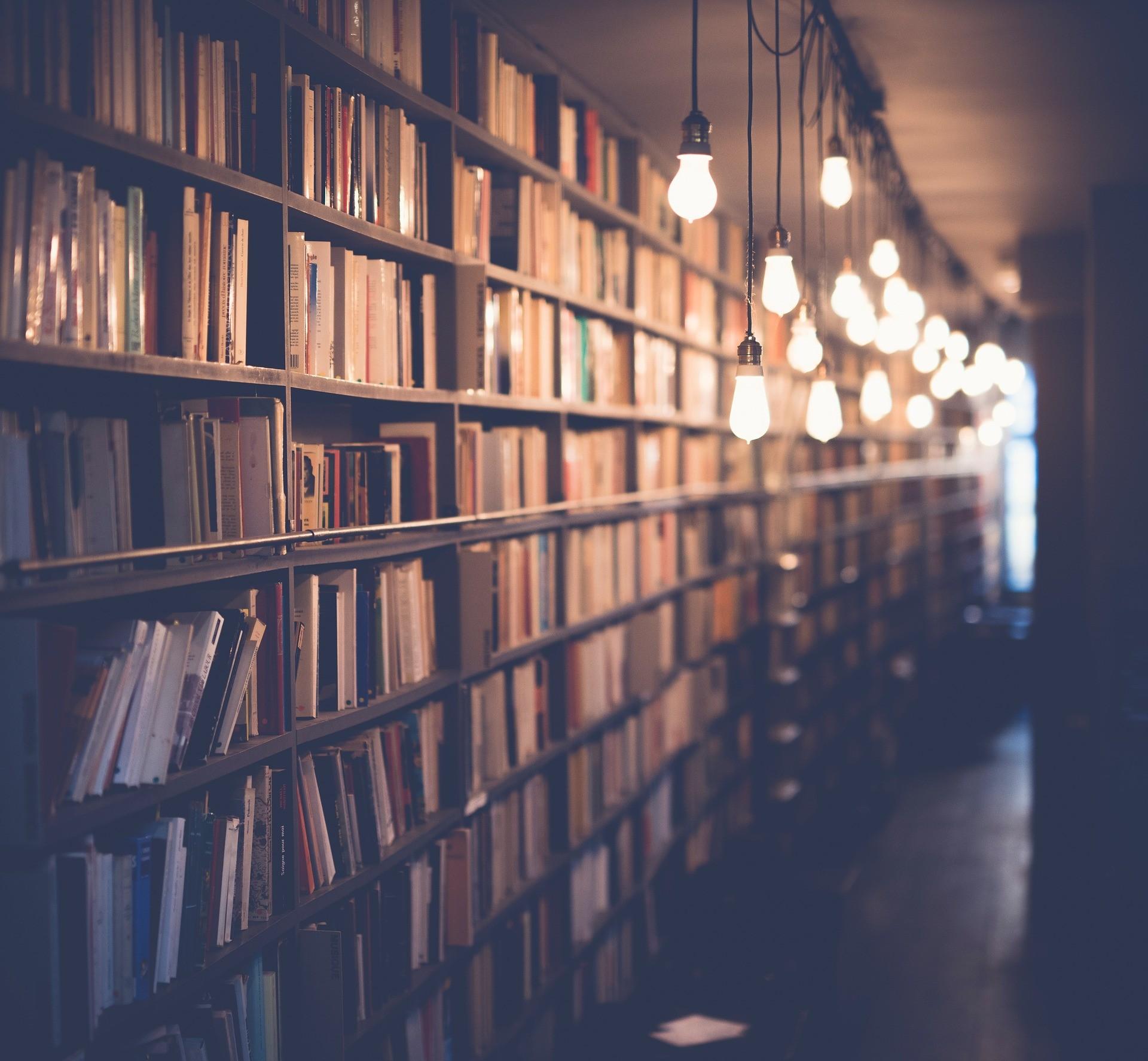 ▲▼讀書,圖書館(圖/Pixabay)