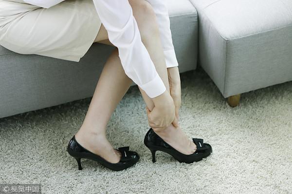 ▲扭到腳,腳踝,扭傷。(圖/CFP)