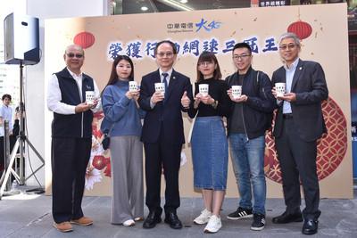 中華電信行動網速三冠王 小編打賭贏仍「請喝咖啡」