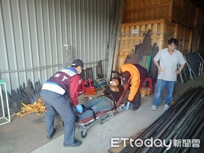 台南南區明興路氣爆 1工人送醫