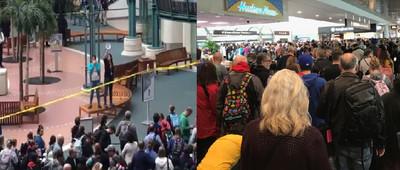 男子奧蘭多機場跳樓!嚇壞旅客