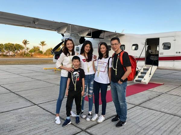 ▲賈永婕近來和家人飛往菲律賓旅遊度假。(圖/翻攝自賈永婕臉書)