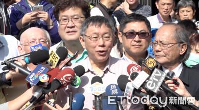 韓國瑜拋兩岸「你儂我儂」 柯P回「先有後婚」