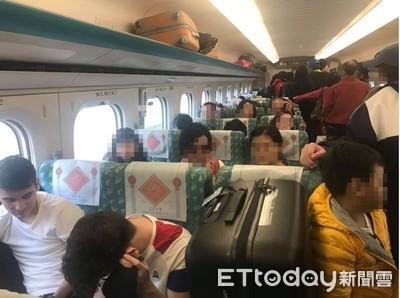老外用行李佔座位 高鐵:已放到行李區