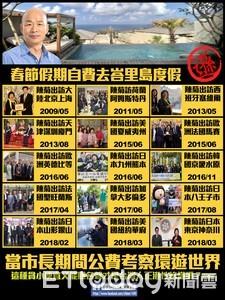 韓國瑜自費太遜 《公民1495行動聯盟》打臉花媽