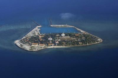菲國中業島填海造陸 外交部抗議