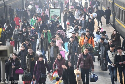 華聞快遞/陸鐵路預計運送回程旅客998萬人