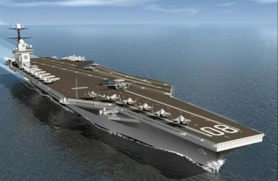 美12艘航母難達成 樂觀估計要到2060年