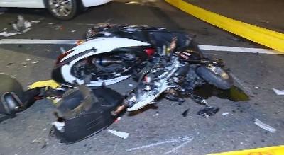 北市松仁路口車禍 20歲騎士身亡