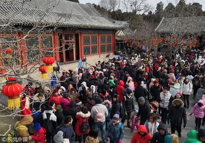 華聞快遞/北京公園遊園一日迎43萬人