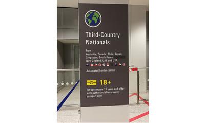 德機場快速通關告示塗銷台灣 外交部:不受影響