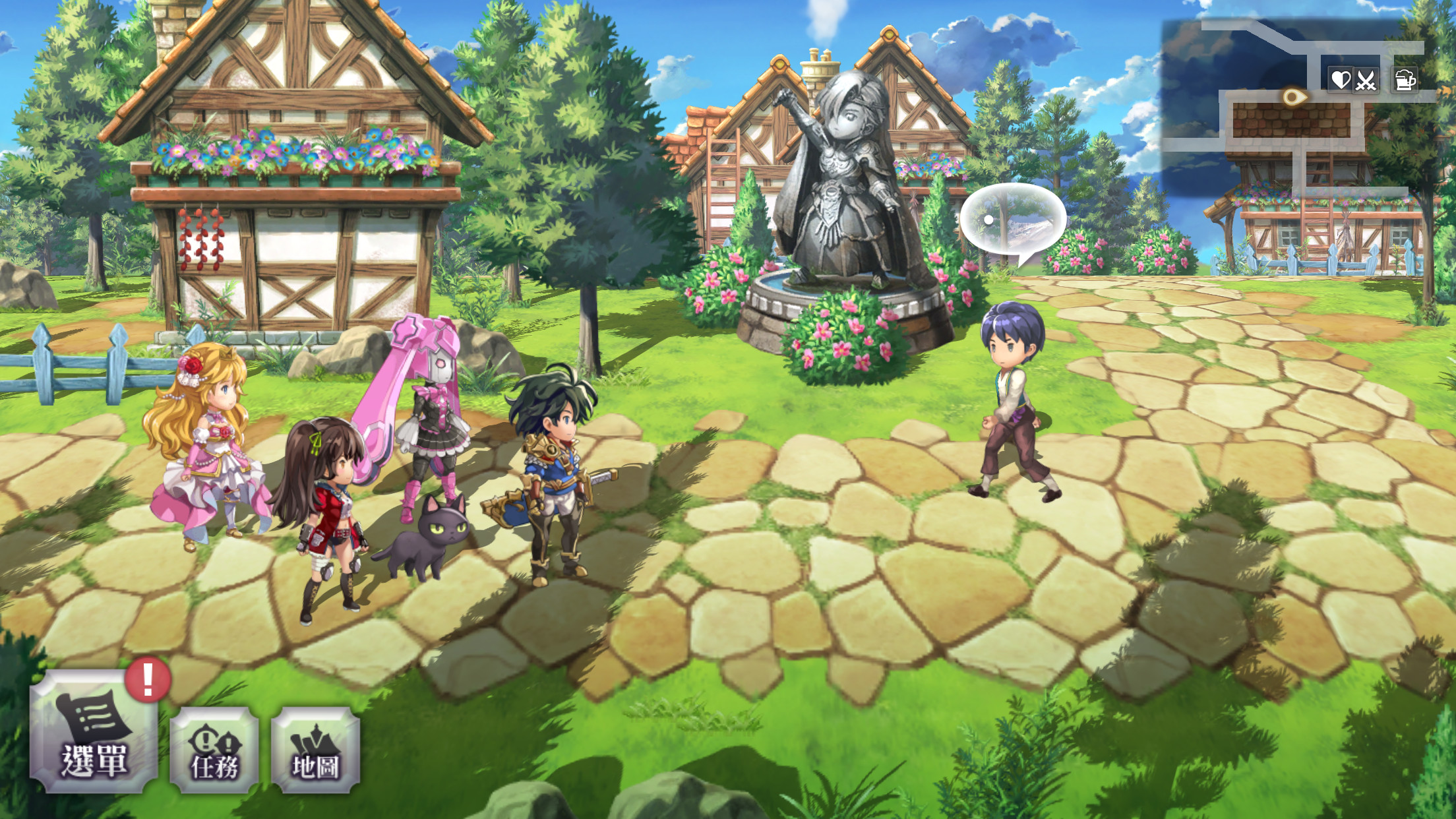 ▲▼《Another Eden:穿越時空的貓》。(圖/翻攝自《Another Eden:穿越時空的貓》遊戲畫面。)