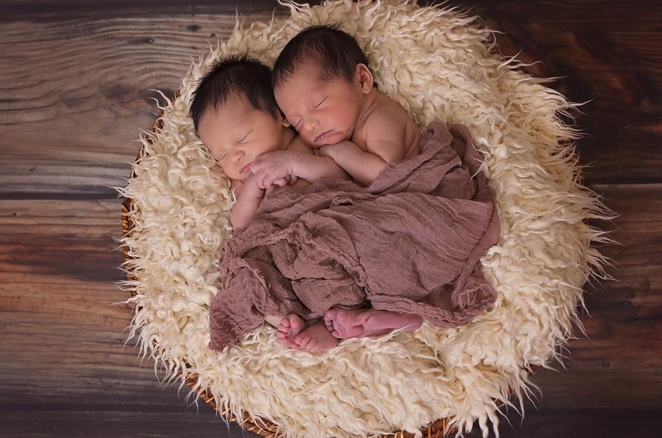 ▲▼雙胞胎,龍鳳胎。(圖/免費圖庫pixabay)