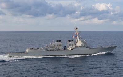 美驅逐艦駛進南海 陸外交部回應了