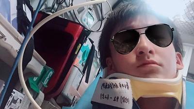 網紅急摳119抬上擔架「先自拍」 醫怒:我們是來救人的!