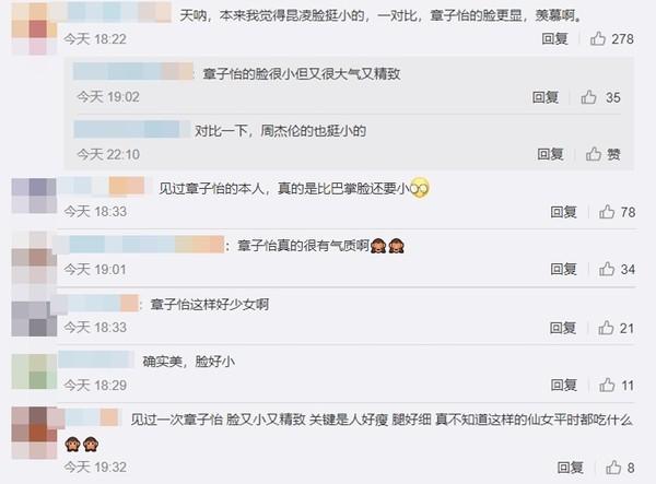 ▲章子怡去看周杰倫演唱會。(圖/翻攝自微博)