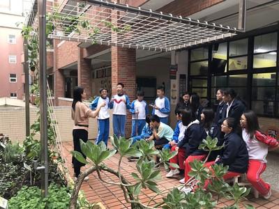 新竹三民國中打造生態綠屋頂