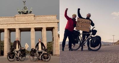 環球騎單車募款救教育 大學剛畢業就籌到一所學校 第二所也在半路中