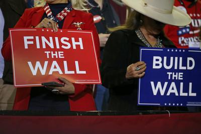 川普赴邊境示決心拒簽讓罪犯入美法案