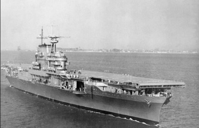 沉船搜索隊新目標:尋找美軍航母大黃蜂號