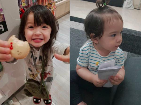 「混血男童」1歲建厚爆受傷送急診! 中斷《超人》拍攝             。(圖/翻攝自安娜IG、KBS)