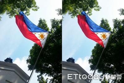 掛反菲律賓國旗變戰爭中 勞部道歉了