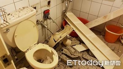 海砂屋都更慢 居民過年上廁所險遭砸