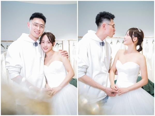 ▲張嘉倪拍婚紗照。(圖/翻攝自微博/妻子的浪漫旅行)