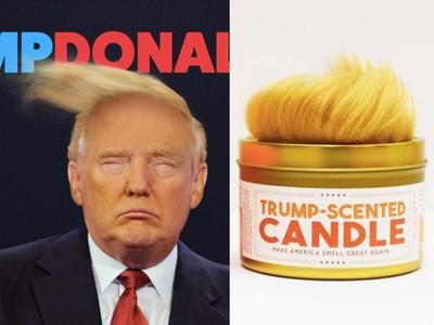 「川普頭髮香氛蠟燭」令人大崩潰