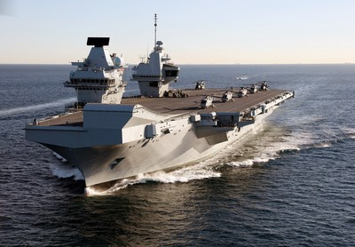 花1200億打造!英航母驚傳漏水險淹死3船員