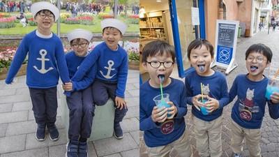 大韓民國萬歲三胞胎要讀小學啦!父親曝未來計劃:不再帶他們上電視
