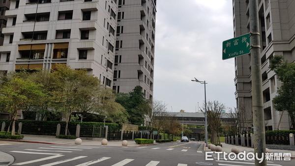 ▲內湖五期重劃區新富街▼。(圖/記者呂佳賢攝)