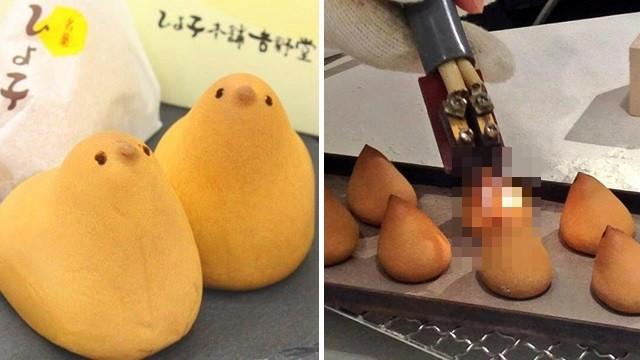 日名產「小雞饅頭」殘忍火燒雞眼!製程曝光,網笑:沒有買賣拒絕傷害