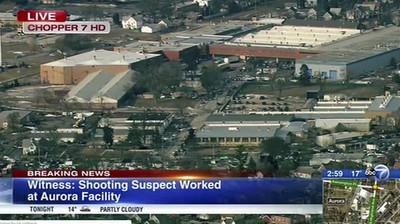 伊州工廠爆槍擊4警受傷 槍手是員工